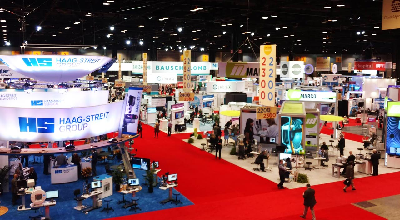trade show exhibitors support by legacy logistics
